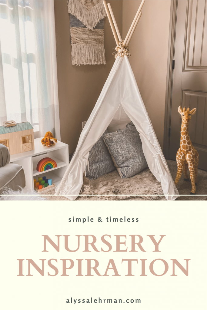 The perfect roundup of minimal and simple nursery inspiration! Perfect for gender neutral designs.