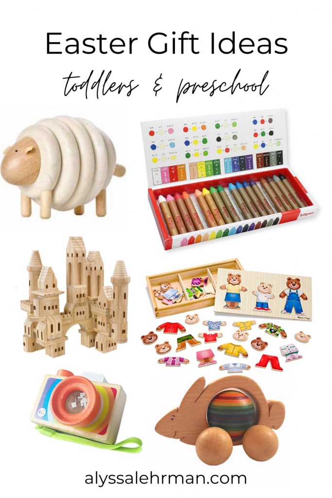 Classic Easter gift ideas for toddler and preschool! Delivered straight to your doorstep,